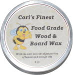 Cori's Finest Wood & Board Wax 8 ounce